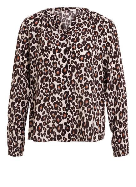 MARC CAIN Bluse mit Seide, Farbe: 696 dark moro (Bild 1)
