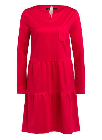 MARC CAIN Kleid mit Volantbesatz, Farbe: 247 deep pink (Bild 1)