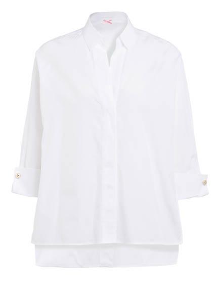 MARC CAIN Hemdbluse mit 3/4-Arm, Farbe: 100 WHITE (Bild 1)