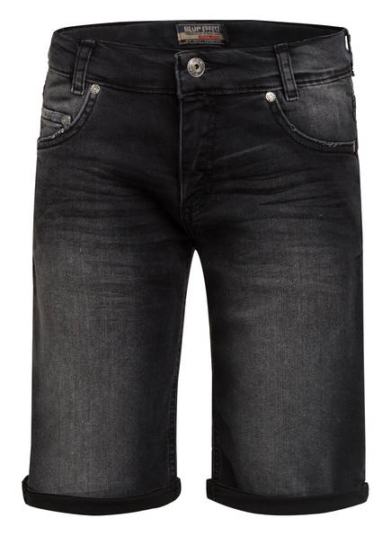 BLUE EFFECT Jeans-Shorts, Farbe: 9451 BLACK MEDIUM (Bild 1)