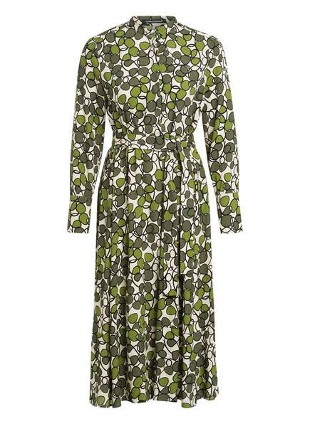 LUISA CERANO Kleid mit 3/4-Arm, Farbe: GRÜN/ ECRU (Bild 1)