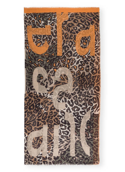 LUISA CERANO Tuch, Farbe: COGNAC/ SCHWARZ (Bild 1)