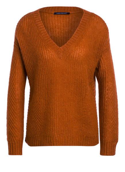 LUISA CERANO Pullover mit Mohair , Farbe: ORANGE (Bild 1)