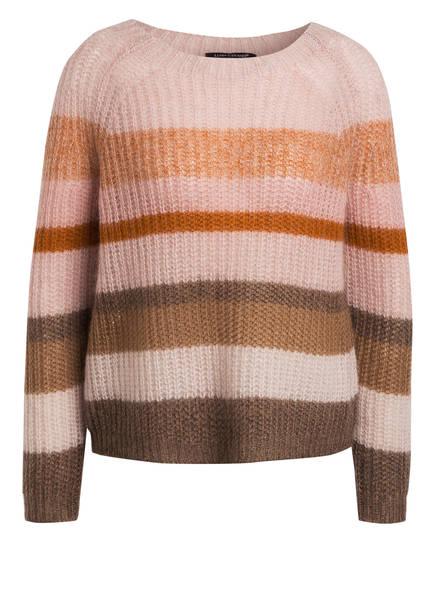 LUISA CERANO Pullover, Farbe: HELLROSA/ ORANGE/ HELLBRAUN (Bild 1)