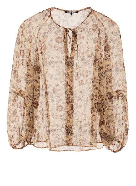 LUISA CERANO Blusenshirt , Farbe: BEIGE/ DUNKELBRAUN (Bild 1)