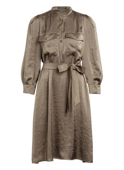 LUISA CERANO Kleid mit 3/4-Arm, Farbe: KHAKI (Bild 1)