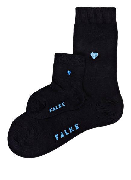 FALKE 2er-Pack Socken MINI ME, Farbe: 6370 DARK NAVY (Bild 1)