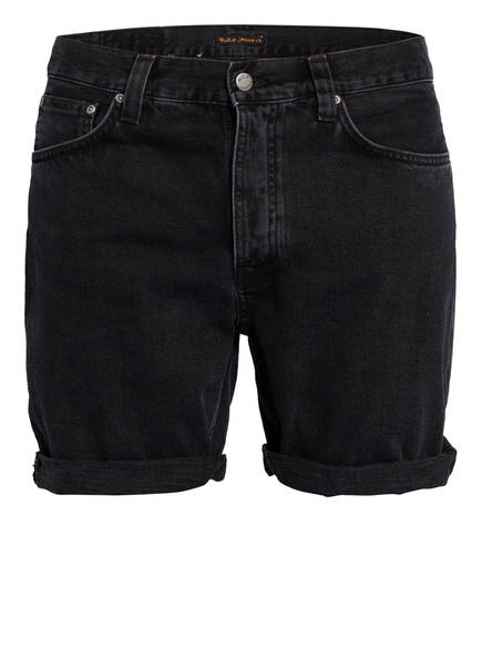 Nudie Jeans Jeans-Shorts JOSH, Farbe: BLACK WATER (Bild 1)