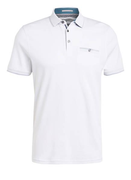 TED BAKER Jersey-Poloshirt BOOMIE, Farbe: WEISS (Bild 1)