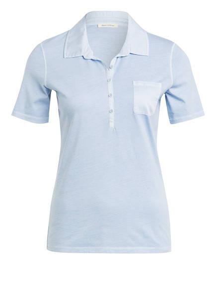 Marc O'Polo Jersey-Poloshirt, Farbe: HELLBLAU (Bild 1)