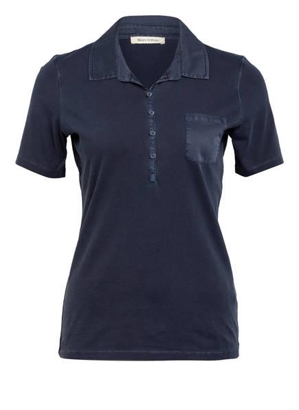 Marc O'Polo Jersey-Poloshirt, Farbe: DUNKELBLAU (Bild 1)