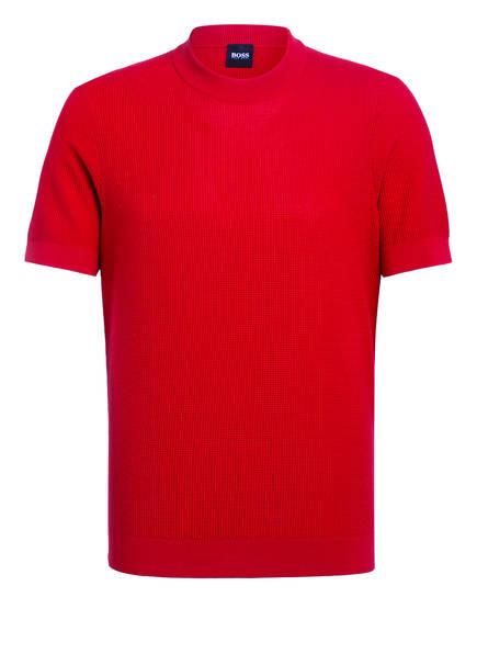 BOSS Strickshirt OMATTEO, Farbe: ROT (Bild 1)