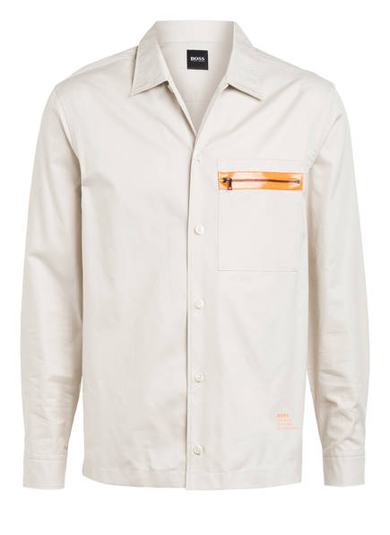 BOSS Overshirt NIC Relaxed Fit , Farbe: CREME (Bild 1)