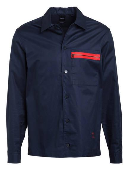 BOSS Overshirt NIC Relaxed Fit , Farbe: DUNKELBLAU (Bild 1)