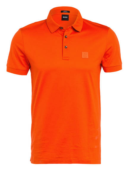 BOSS Jersey-Poloshirt PENROSE Slim Fit , Farbe: ORANGE (Bild 1)