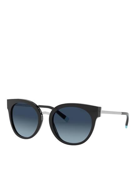 TIFFANY & Co. Sunglasses Sonnenbrille TF4168, Farbe: 80014U - SCHWARZ/ BLAU VERLAUF (Bild 1)