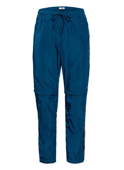 TOMMY HILFIGER Zipp-off-Hose mit Galonstreifen, Farbe: PETROL (Bild 1)