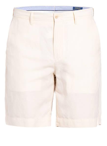 POLO RALPH LAUREN Chino-Shorts mit Leinen Classic Fit, Farbe: ECRU (Bild 1)