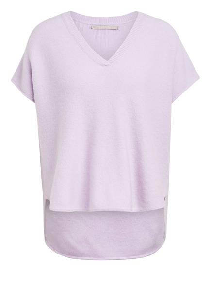 (THE MERCER) N.Y. Strickshirt aus Cashmere, Farbe: HELLLILA (Bild 1)