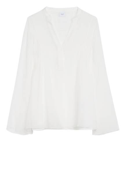 Marc O'Polo Pure Blusenshirt aus Seide, Farbe: WEISS (Bild 1)