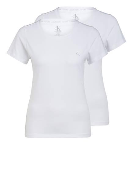 Calvin Klein 2er-Pack T-Shirts CK ONE , Farbe: WEISS (Bild 1)