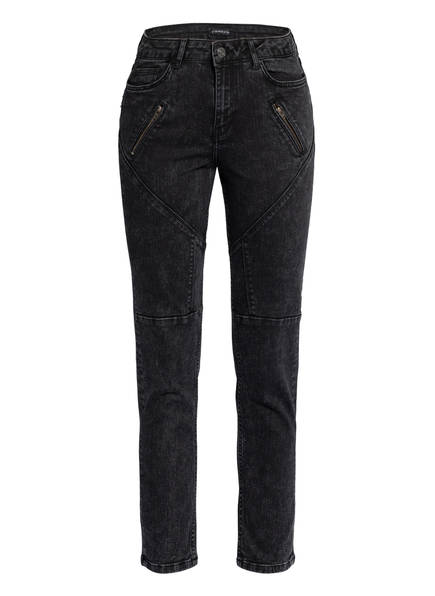 ONE MORE STORY Skinny Jeans , Farbe: 4307 BLACK WASHED (Bild 1)
