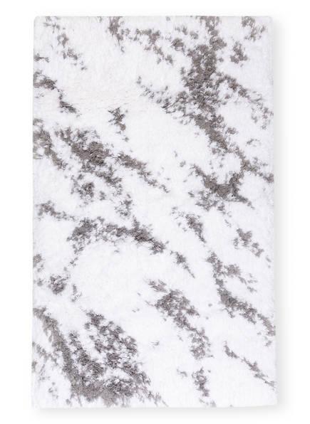 Graccioza Badematte MABEL, Farbe: WEISS/ GRAU (Bild 1)