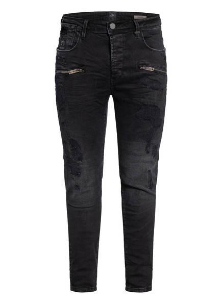 ER ELIAS RUMELIS Jeans AYDEN Extra Slim Fit, Farbe: Cloud Black Destroyed (Bild 1)