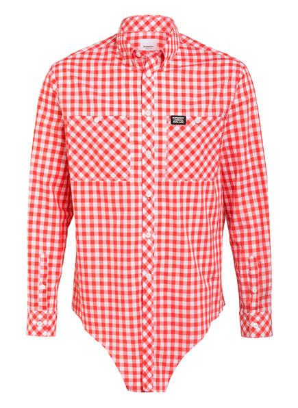 BURBERRY Hemd Comfort Fit , Farbe: ROT/ WEISS (Bild 1)