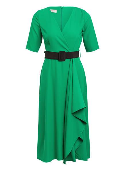 RINASCIMENTO Kleid in Wickeloptik, Farbe: GRÜN (Bild 1)