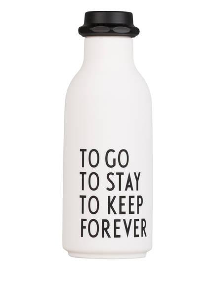 DESIGN LETTERS Trinkflasche TO GO, Farbe: WEISS (Bild 1)