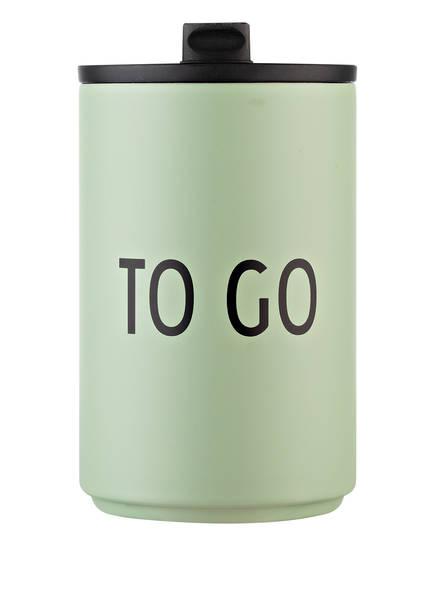 DESIGN LETTERS Thermobecher TO GO, Farbe: MINT (Bild 1)