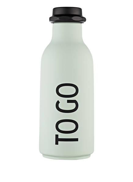 DESIGN LETTERS Trinkflasche TO GO, Farbe: MINT (Bild 1)