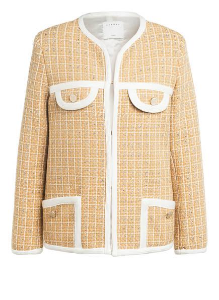 sandro Tweed-Jacke, Farbe: BEIGE/ WEISS (Bild 1)