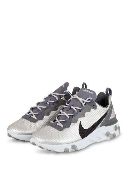 Nike Sneaker REACT 55 PREMIUM, Farbe: SILBER/ GRAU (Bild 1)