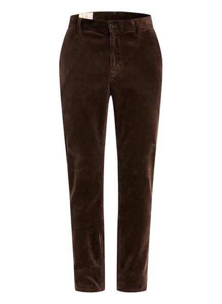 Nudie Jeans Cordhose ELVIN Regular Fit, Farbe: BRAUN (Bild 1)