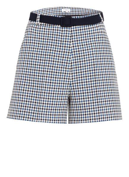 CLAUDIE PIERLOT Shorts ELGAE, Farbe: BLAU/ CREME (Bild 1)