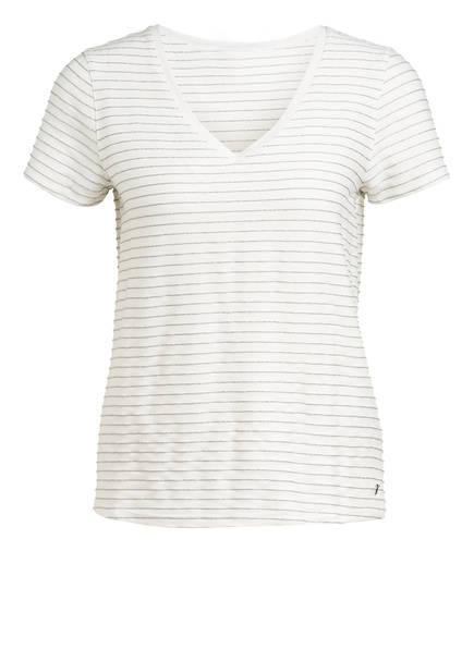 TED BAKER T-Shirt GIIANAI mit Glitzergarn, Farbe: ECRU/ SILBER (Bild 1)