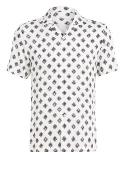 REISS Halbarm-Hemd JOSS Regular Fit, Farbe: WEISS/ BLAU (Bild 1)