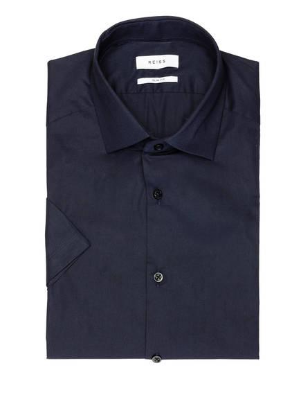 REISS Kurzarm-Hemd EDDIE Slim Fit , Farbe: DUNKELBLAU (Bild 1)