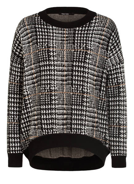 MARC AUREL Pullover, Farbe: WEISS/ SCHWARZ (Bild 1)