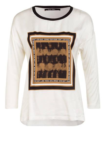 MARC AUREL Shirt mit 3/4-Arm, Farbe: WEISS (Bild 1)