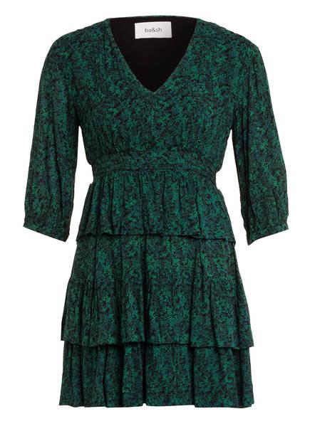 ba&sh Kleid NINA, Farbe: DUNKELGRÜN/ HELLGRÜN (Bild 1)