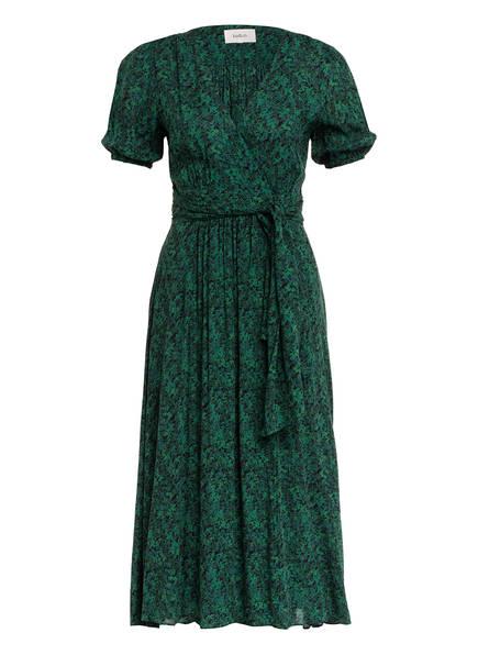 ba&sh Kleid NOEMI, Farbe: DUNKELGRÜN/ HELLGRÜN (Bild 1)