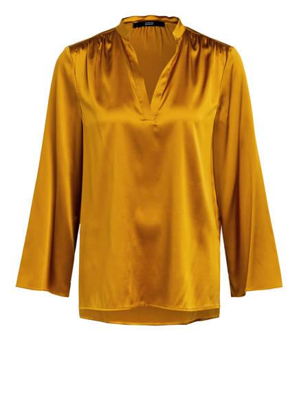 STEFFEN SCHRAUT Blusenshirt aus Seide, Farbe: DUNKELGELB (Bild 1)