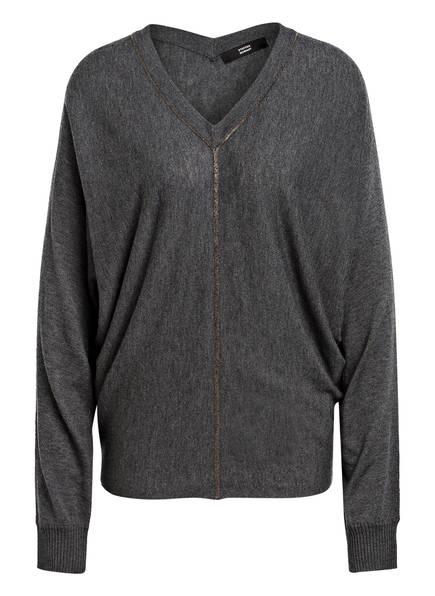 STEFFEN SCHRAUT Pullover mit Schmucksteinbesatz, Farbe: GRAU (Bild 1)