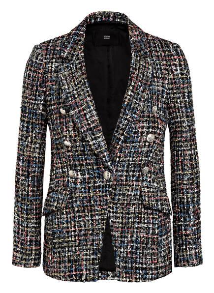 STEFFEN SCHRAUT Tweed-Blazer, Farbe: SCHWARZ/ HELLROSE/ GRAU (Bild 1)