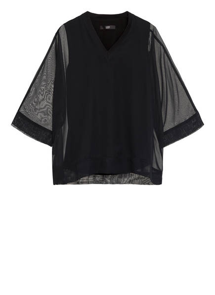 STEFFEN SCHRAUT Blusenshirt mit 3/4-Arm, Farbe: SCHWARZ (Bild 1)