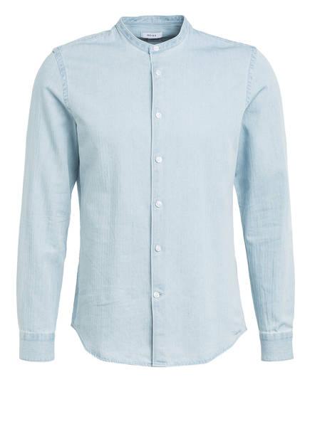 REISS Hemd MAINE Extra Slim Fit mit Stehkragen , Farbe: HELLBLAU (Bild 1)