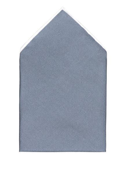 REISS Einstecktuch MOON aus Seide, Farbe: GRAU (Bild 1)
